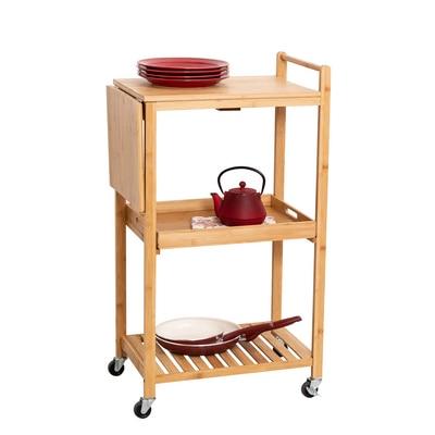 Bamboo Kitchen Cart