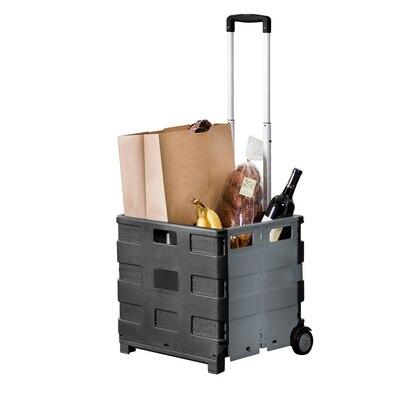 Folding Crate Cart in Neutral