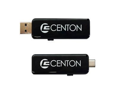 Centon OTG USB-C 2-in-1 Dual Drive 16GB