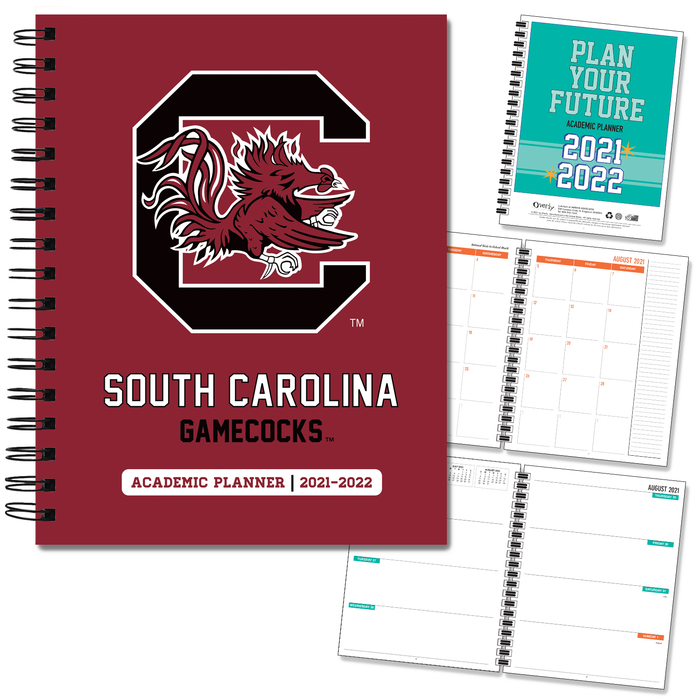South Carolina 20-21 7x9 Hard Cover Planner