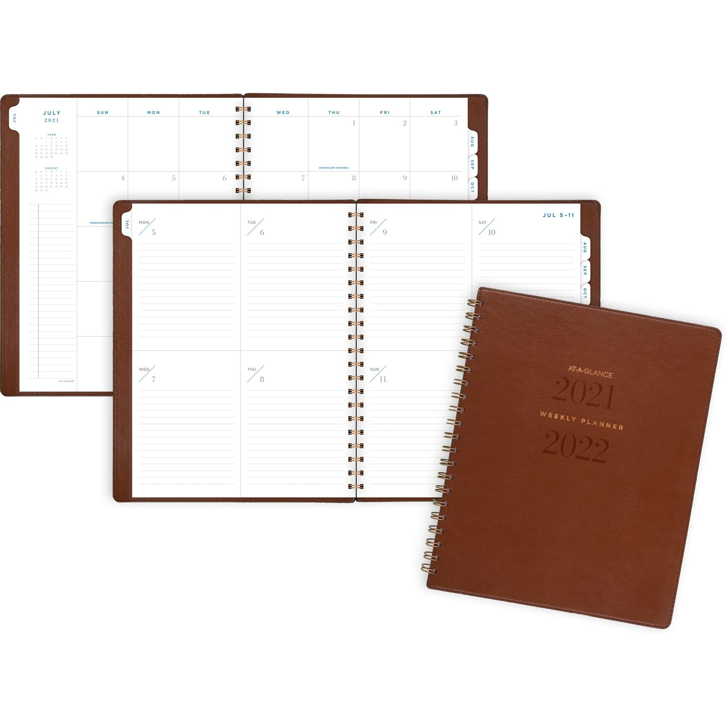 AAG AY 21-22 Brown Planner8x11