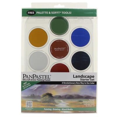 PANPASTEL 7CLR STARTER LNDSCPE