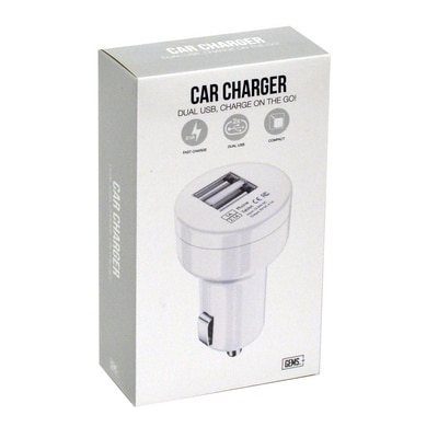 GEMS Car Charger White