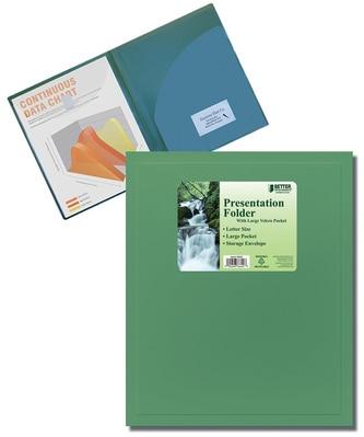Better 2 Pocket Presentation Folder Front View