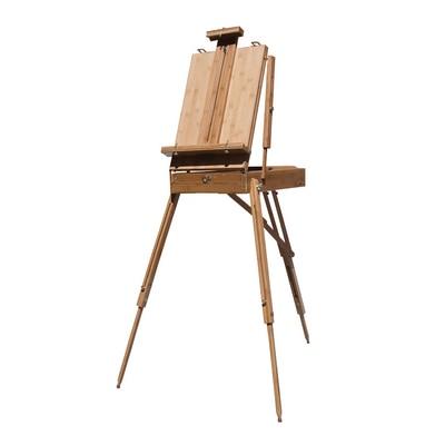 Art Alternatives Bamboo Sonoma Sketch Box Easel