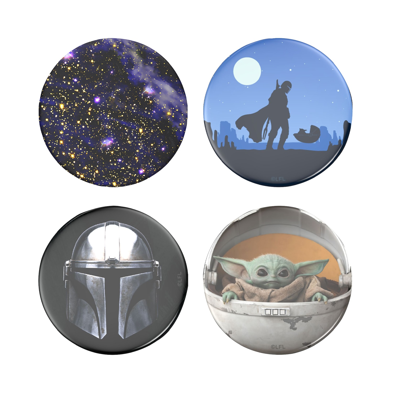 Popsocket PopGrip+PopTop Bundle Star Wars 4ct