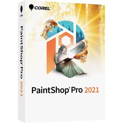 Corel PaintShop Pro 2021 Commercial 2021 WIN DVD Eng/Frch
