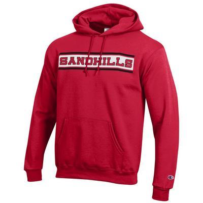 Sandhills Community College Champion Powerblend  Pullover Hoodie