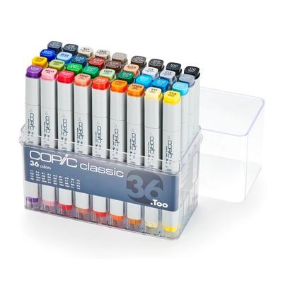 Copic(R) Classic Marker Set, 36-Color Set
