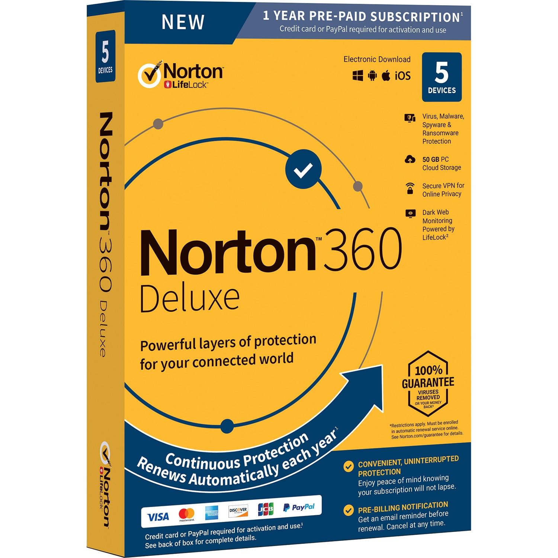 Symantec Norton 360 Deluxe