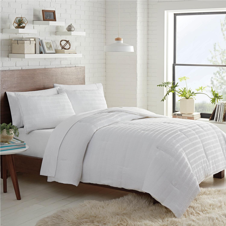 Lemon Tree Carissa Ruched Full/Queen Comforter Set