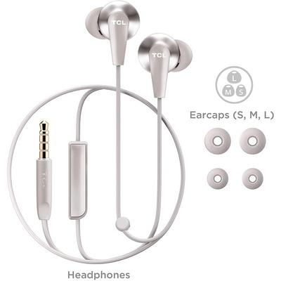 TCL ELIT300 White Headphones