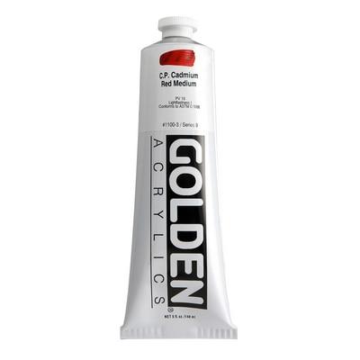 Golden(R)Heavy Body Acrylics, 5oz., C P Cadmium Red Medium