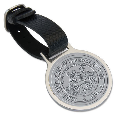 Hood College Official Bookstore Bag Tag
