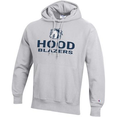 Hood College Official Bookstore Champion Men's Reverse Weave Hoodie Sweatshirt