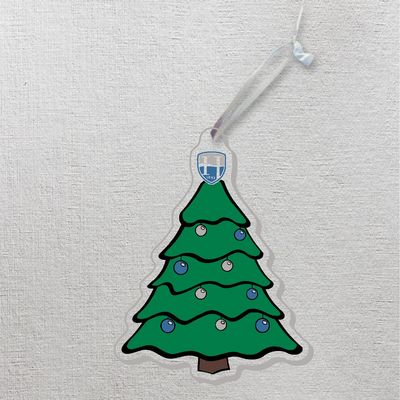 Hood College Official Bookstore Ornament Tree