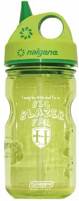 Hood College Official Bookstore 12oz Nalgene Sippy Wide Mouth Water Bottle