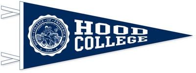 Hood College Official Bookstore 12x30 Felt Pennant