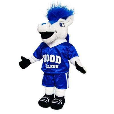 Hood College Official Bookstore 8in Custom Plush Mascot