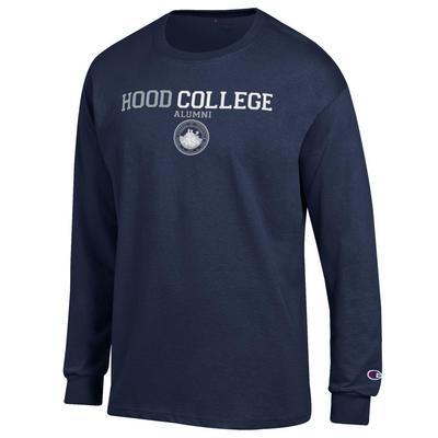Hood College Official Bookstore Champion Jersey Long Sleeve T-Shirt