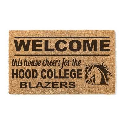 Hood College Official Bookstore Welcome Doormat