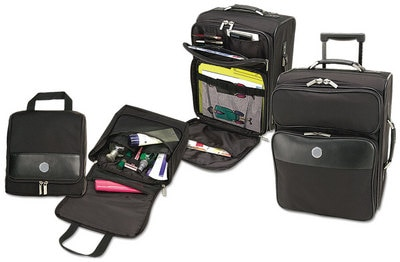 Hood College Official Bookstore Luggage Set