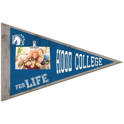 Hood College Official Bookstore Pennant Clip It