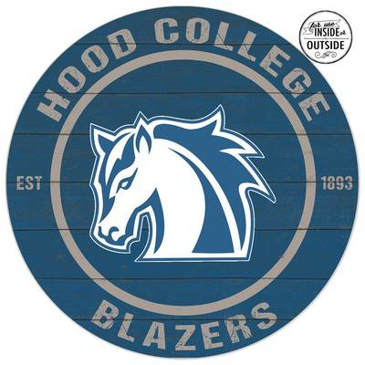 Hood College Official Bookstore Indoor Outdoor Color Sign