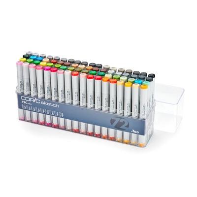 Copic(R) Sketch Marker Set, 72-Color Set C