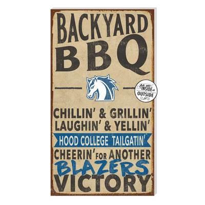 Hood College Official Bookstore Indoor Outdoor BBQ Sign