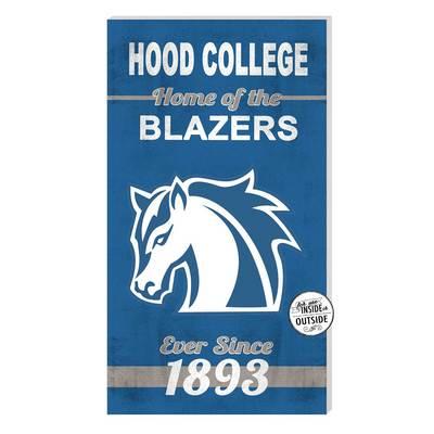 Hood College Official Bookstore Indoor Outdoor Home Sign