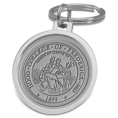 Hood College Official Bookstore Spit-wire Key Ring