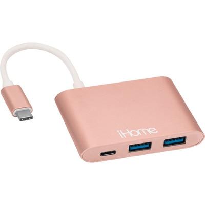 iHome 4Port USB-C Hub