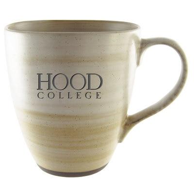 Hood College Official Bookstore 16 oz Earth Tone Ceramic Mug