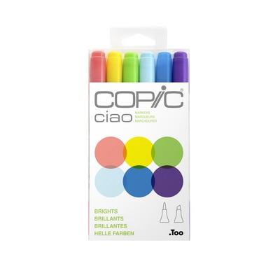 Copic(R) Ciao Marker Set, Brights