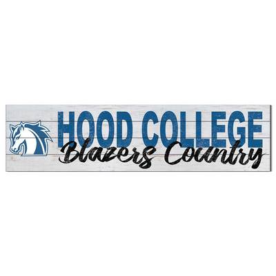 Hood College Official Bookstore Shiplap Sign School