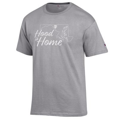 Hood College Official Bookstore Champion 100% Cotton T-Shirt