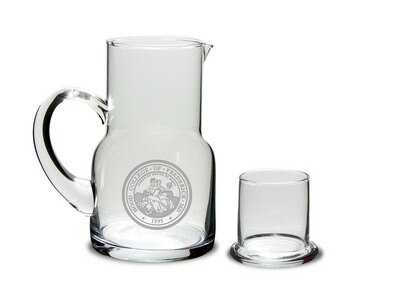 Hood College Official Bookstore Water Carafe