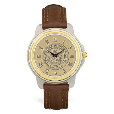 Hood College Official Bookstore Men's Two-Tone Watch