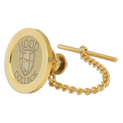 Hood College Official Bookstore Gold Tie Tack/Lapel Pin