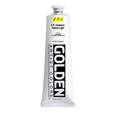 Golden(R) Heavy Body Acrylic, 5 oz., C.P. Cadmium Yellow Light