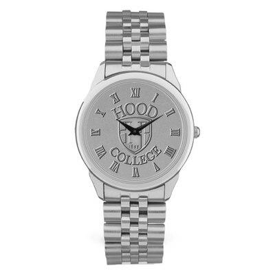 Hood College Official Bookstore Men's Watch Link Bracelet