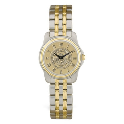Hood College Official Bookstore Ladies' Two-Tone Watch