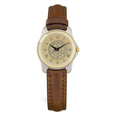 Hood College Official Bookstore Women's Leather Watch