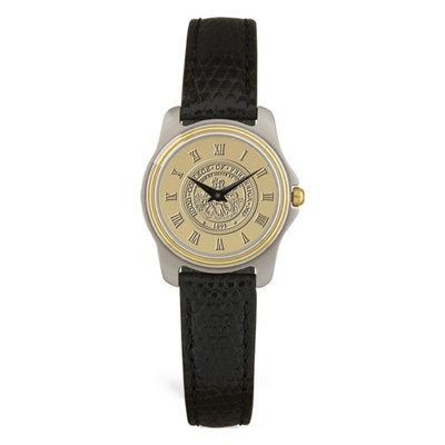 Hood College Official Bookstore Women's Two-Tone Watch