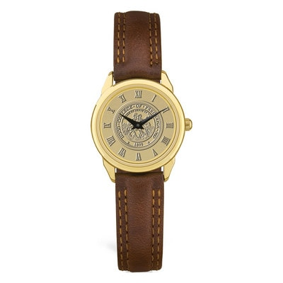 Hood College Official Bookstore Ladies' Leather Watch