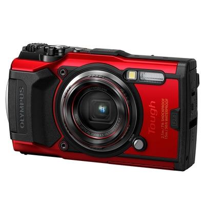 Olympus Rugged 12MP Cam TG6 Red