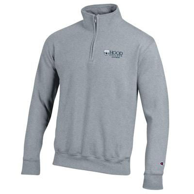 Hood College Official Bookstore Champion Powerblend Quarter-Zip Pullover