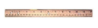 Avantix 12in Wood Ruler