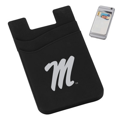Dual Pocket Cell Phone Wallet Black